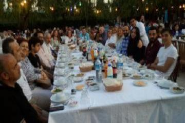 Timhan Textile is in the Traditional İftar Meal